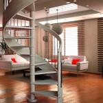 scala-chiocciola-legno-acciaio-inox-ametista-lineascale