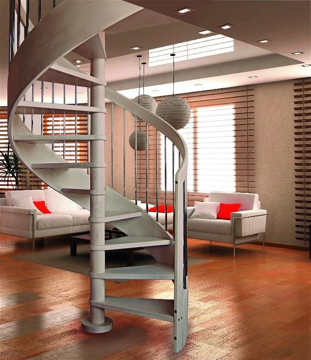 Scale a chiocciola in legno e ferro scale interne - Ringhiere per scale interne in legno ...