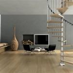 scala-chiocciola-legno-acciaio-rubino-lineascale