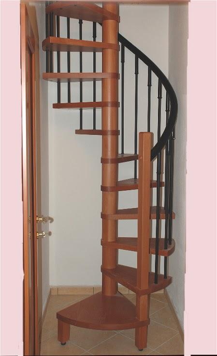 Scale a chiocciola in legno e ferro scale interne - Scale di legno prezzi ...