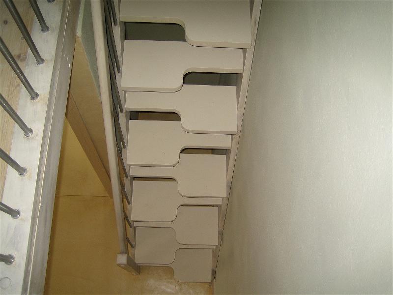 Scale soppalco piccoli spazi legno metallo marinara for Idee scale per soppalchi